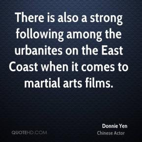 Donnie Yen - There is also a strong following among the urbanites on ...
