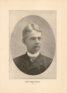 Details about John James Ingalls 1896 Antique Portrait Illustration