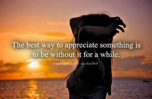 Appreciate Life Quotes Tumblr