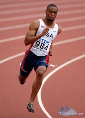 Tyson Gay se aleja del 200 de Daegu