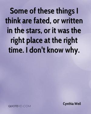 Cynthia Weil Quotes