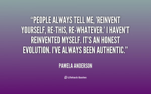 Quotes About Reinventing Yourself