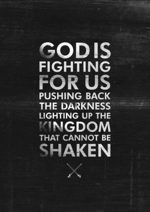 God is fighting for us! Follow us at http://gplus.to/iBibleverses