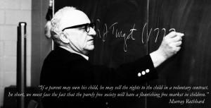 ... Jewish libertarian Murray Rothbard on trading with children