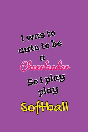 Softball Mom Quotes Softball quote. via makayla k