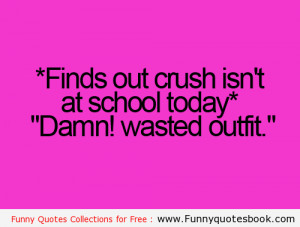 Awkward moment with Crush