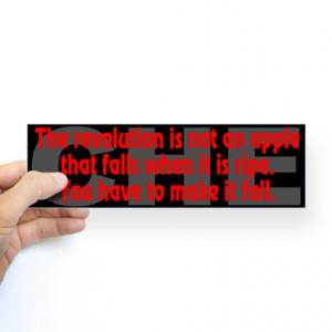 ... Anti-Capitalist Auto > Che Guevara Quote: Revolution- Bumper Sticker
