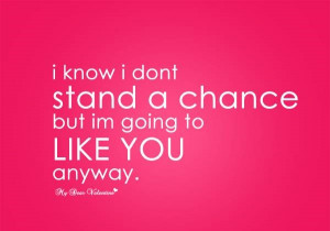 AM GOING TO LIKE YOU ANYWAY - LOVE QUOTES - My Lovely Quotes