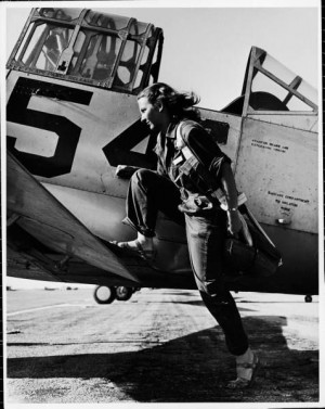 female pilot of the US women's air force service, 1943 • peter ...