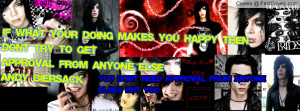 Andy Biersack Quotes Profile Facebook Covers