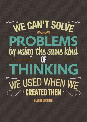 Einstein. Problem solving