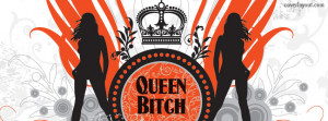 Queen Bitch Facebook Cover Layout