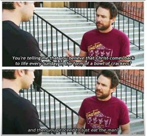... Mac's Religious Beliefs On it's Always Sunny In Philadelphia