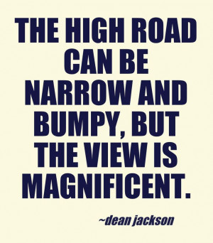 the high road lifeinthenow com