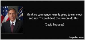 More David Petraeus Quotes