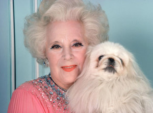 Dame Barbara Cartland Picture Gallery