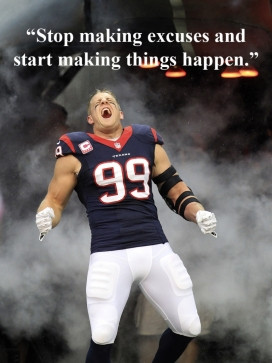 Watt joins forces with Papa John's to deliver pizzas for ...