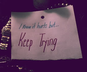 Quotes about Keep Trying