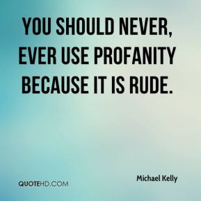 Profanity Quotes