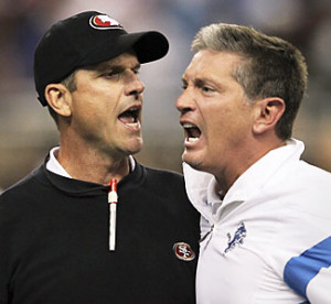 NFL coaches' post-game scuffle