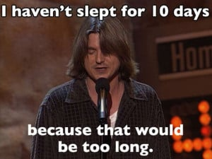The Funniest Mitch Hedberg Quotes of All Time (24 pics)