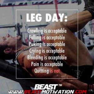 Leg DAY!