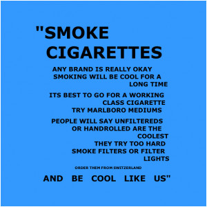 Funny Quotes On Smoking Cigarettes