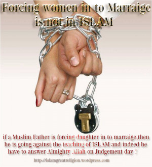 "Forced in to Marriage in Islam"" This myth is completely fake,Islam ..."