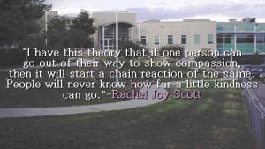 Rachel Scott Quotes Tumblr...