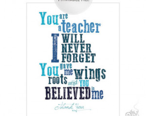 teacher appreciation quotes to say thank you my teacher is special