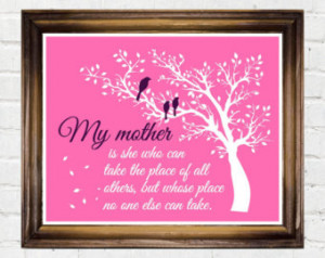Mom Quotes From Daughter For Birthday Gift for mom birthday mothers