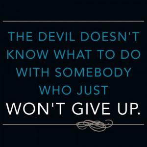 ... https://www.facebook.com/GROinspirationals #JoyceMeyer Never give up