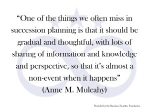 One of the Things We Often Miss in Succession Planning