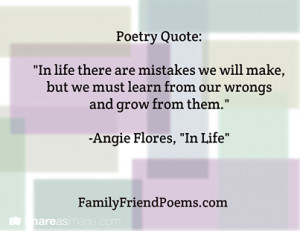 Lesson Quote Inspirational Poems About Life