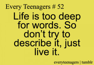 Every Teenagers - Relatable Quotes for Every Teens