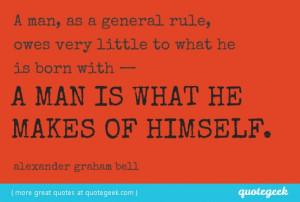 That Alexander Graham Bell...