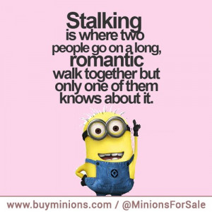 minions quotes long walk stalker