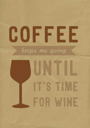 Cool Coffee Quote | Powered by Coffee