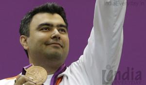 Gagan Narang shoots bronze for India 4