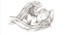 Rip Baby Tattoos Like. #rip #baby #angel #wings