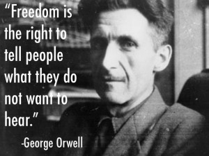 More great Orwell quotes here: http://www.prosebeforehos.com/quote-of ...