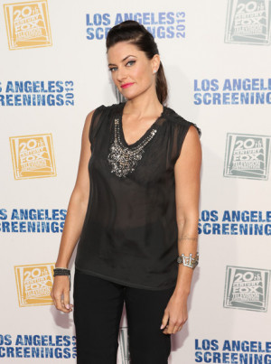 Madchen Amick With Platform