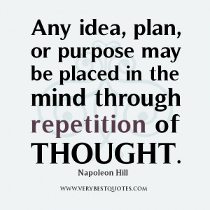 Affirmation quotes, purpose quotes, mind quotes, thought quotes