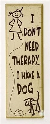 don't need therapy...