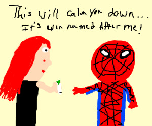 The Aunt May and Mary Jane that I was hitting on