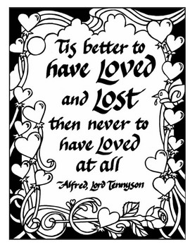 Photos of Quotes About Love And Life Coloring Pages