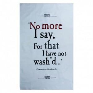Quote taken from Shakespeare's Coriolanus: Coriolanus I, x. Quote ...