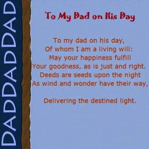 Happy Father's Day 2014 Poems