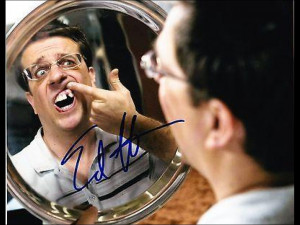 Edgar Garbisch Autographed Photo - Ed Helms 8x10 Authentic The ...