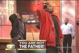 You-are-not-the-father salute | You Are NOT The Father! | Know Your ...